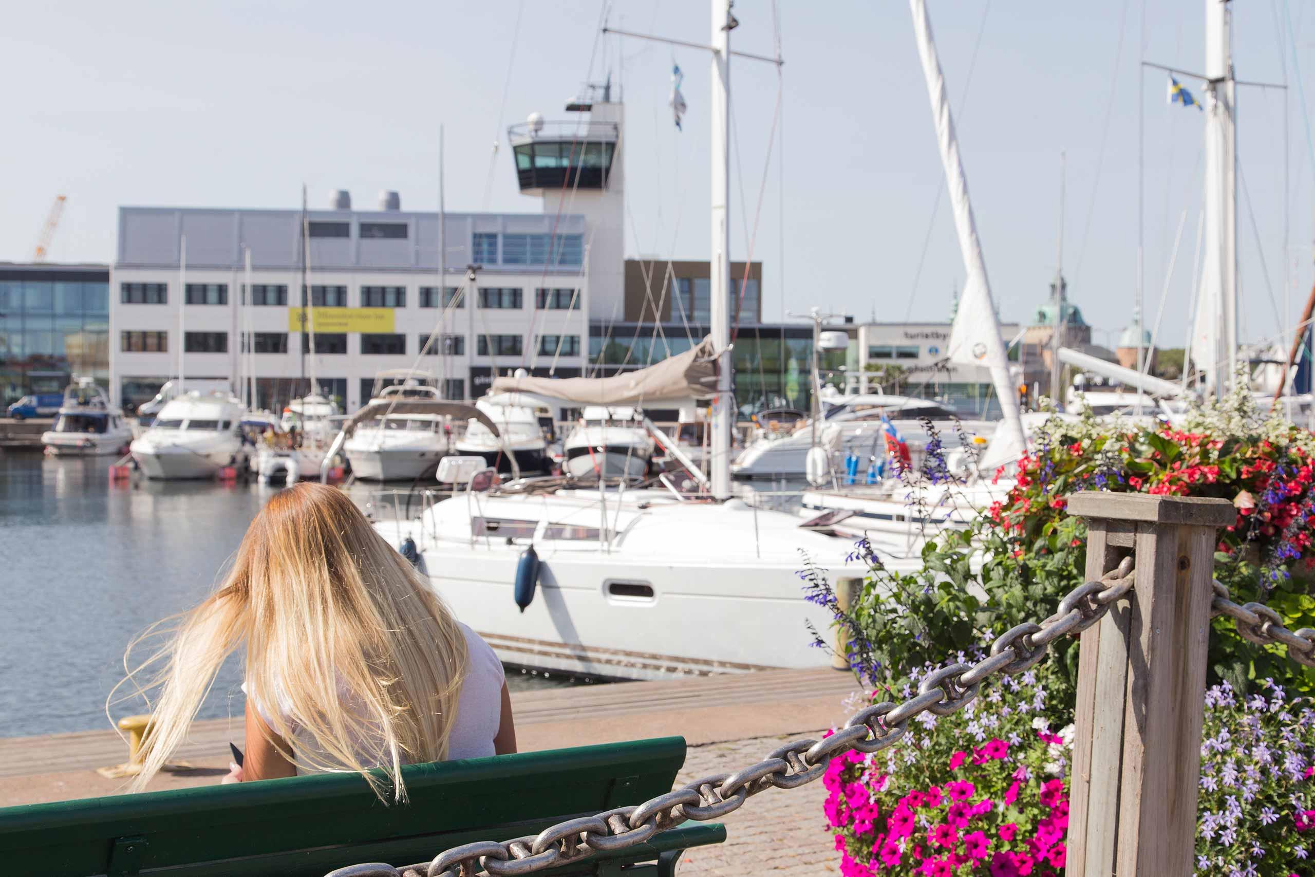 Gästhamnen i Kalmar