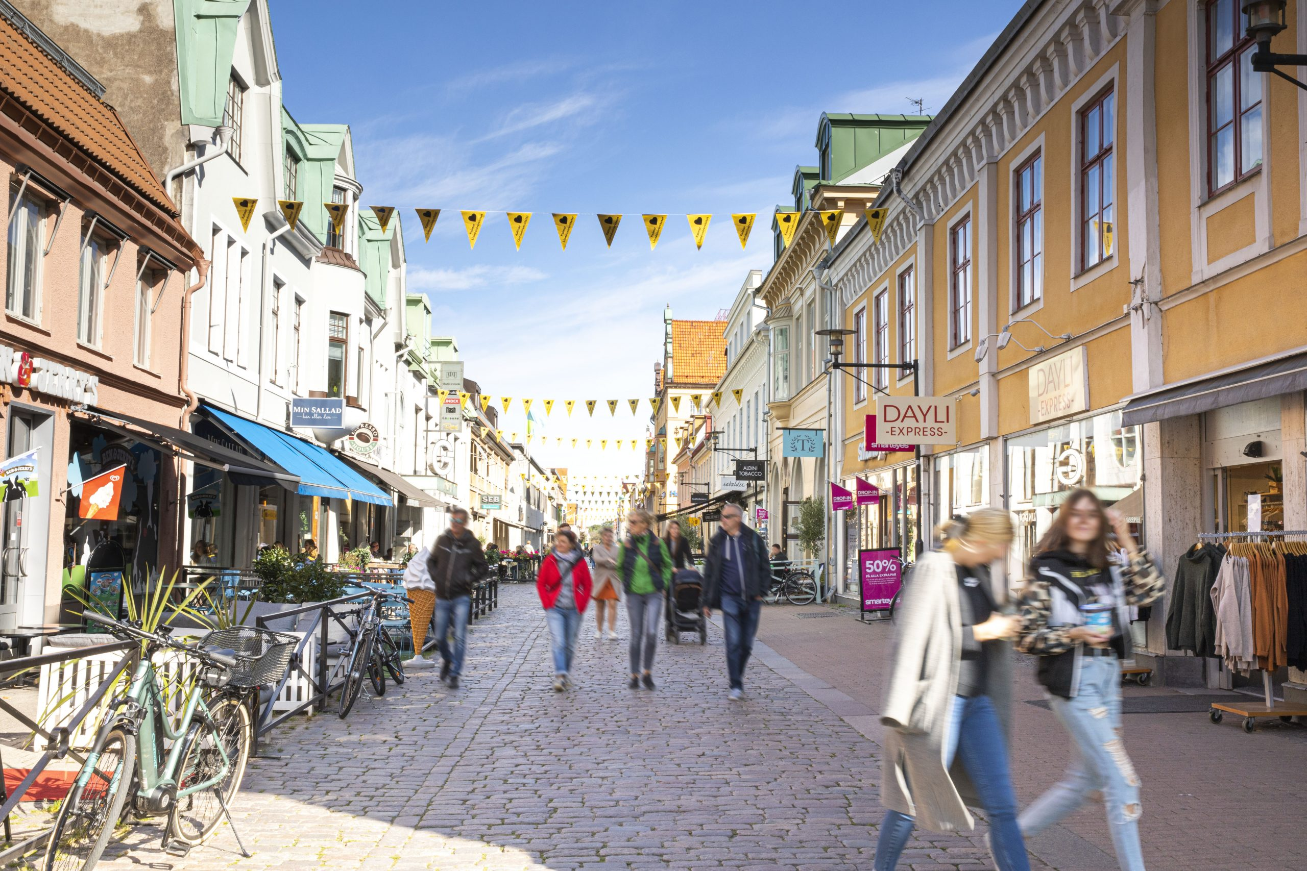 Kalmar city centre