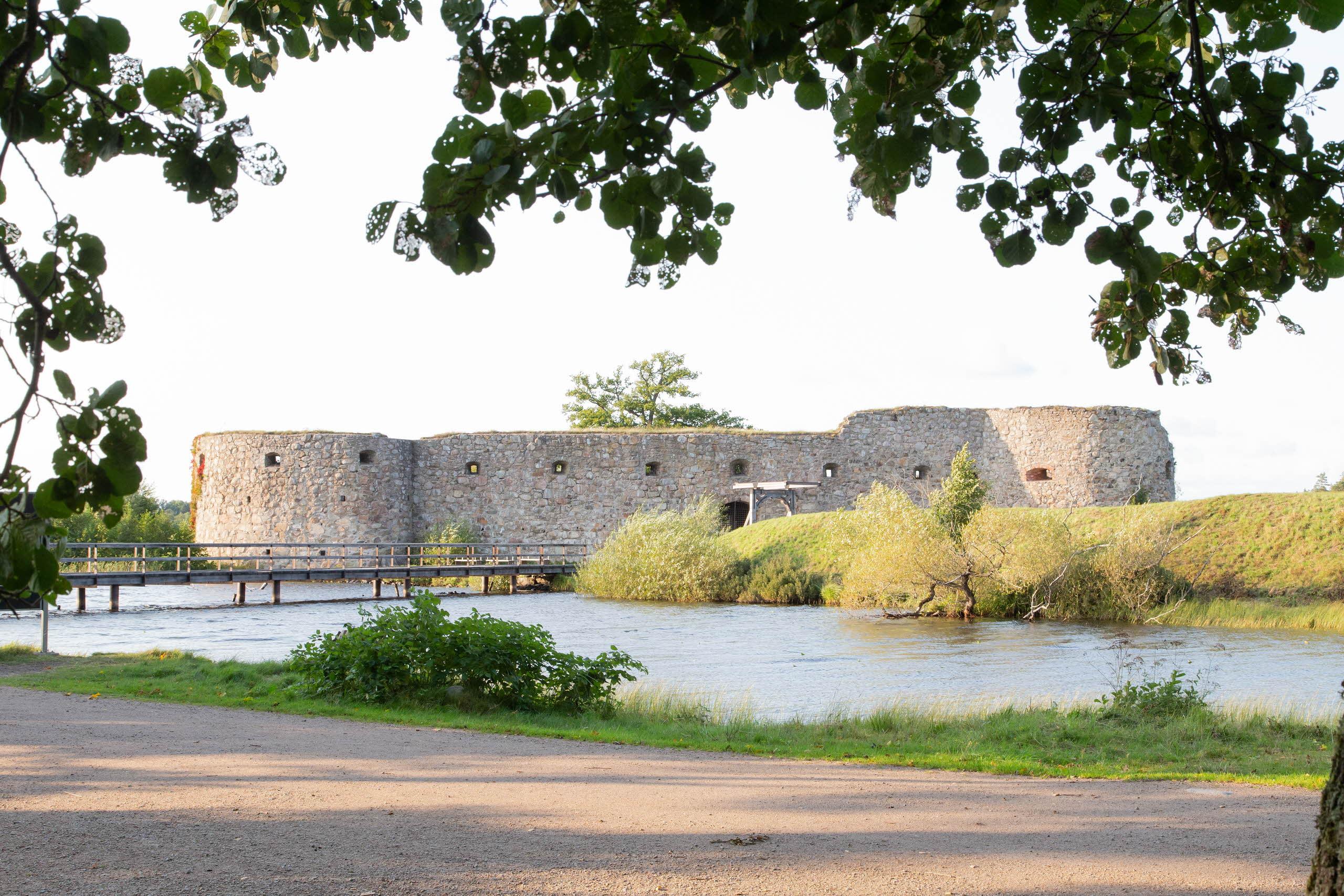 Castle in Växjö at Linnaeus University